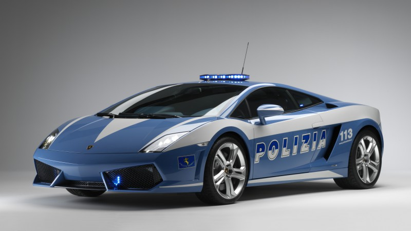 Lamborghini Huracan LP610-4 Polizia, supercar, police car, luxury cars, sports car, test drive (horizontal)