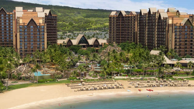 Disney Resort & Spa, Aulani, Best Hotels of 2017, The best hotel pools 2017, tourism, travel, resort, vacation, beach, sea