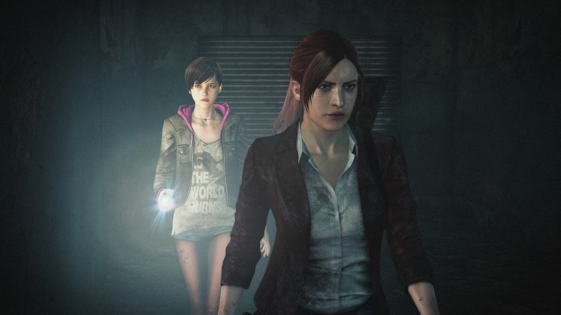 Resident Evil: Revelations 2, Episode 2, survival horror, monsters, coop, Claire Redfield, Moira Burton, gameplay, review, screenshot, PS4, Xbox One, PC (horizontal)