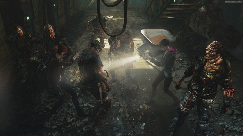 Resident Evil: Revelations 2, Episode 2, survival horror, monsters, coop, Claire Redfield, Moira Burton, gameplay, review, screenshot, PS4, Xbox One, PC