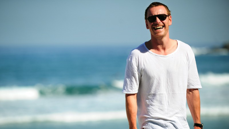 Michael Fassbender, Most Popular Celebs in 2015, actor, beach (horizontal)