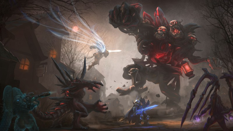 Heroes of the Storm, 2015, game, fantasy, PC
