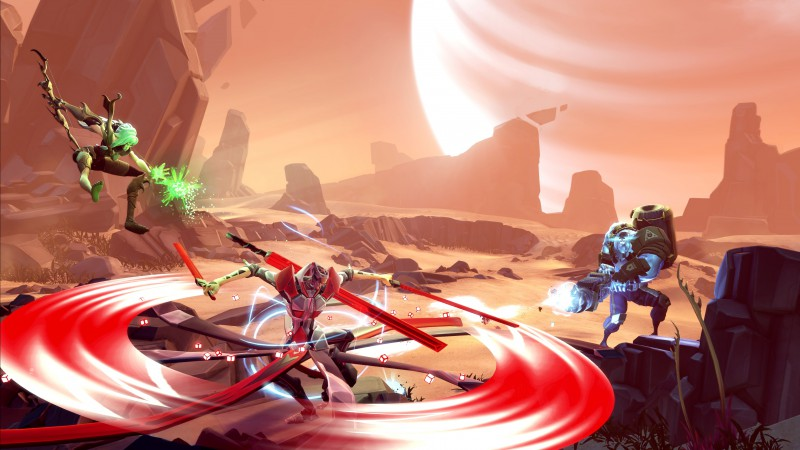 Battleborn, 2015, game, fps, MOBA, fantasy, space, shooter, screenshot, PC, PS4, Xbox (horizontal)