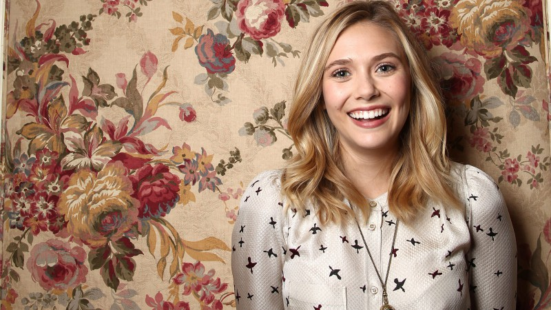 Elizabeth Olsen, Most Popular Celebs in 2015, actress, singer, smile, blonde