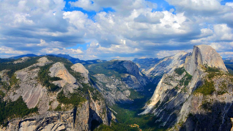 Yosemite, 5k wallpapers, forest, OSX, apple, mountains