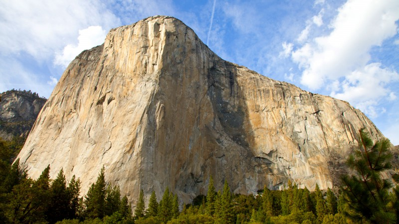 El Capitan, 5k, 4k wallpaper, Yosemite, HD, forest, OSX, apple, mountains (horizontal)