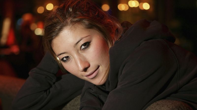Dichen Lachman, Most Popular Celebs in 2015, actress, sofa
