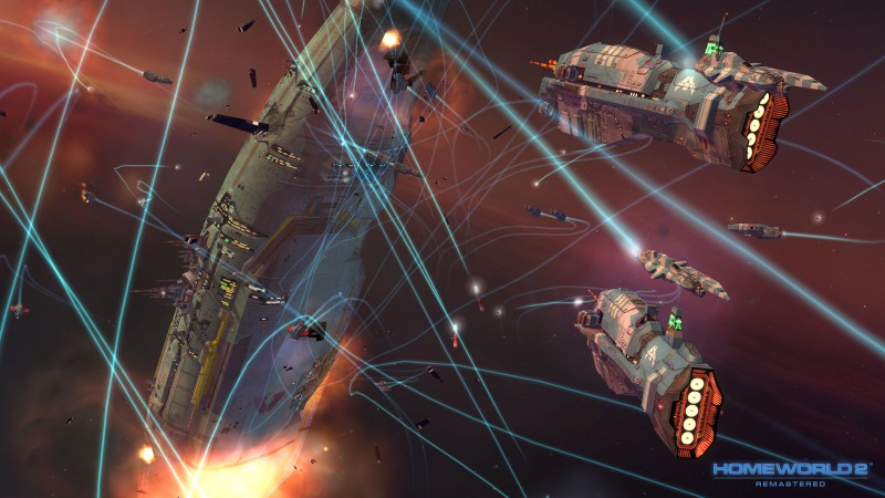 Homeworld Remastered Collection, Best Games 2015, game, sci-fi, space, PC, screenshot (horizontal)