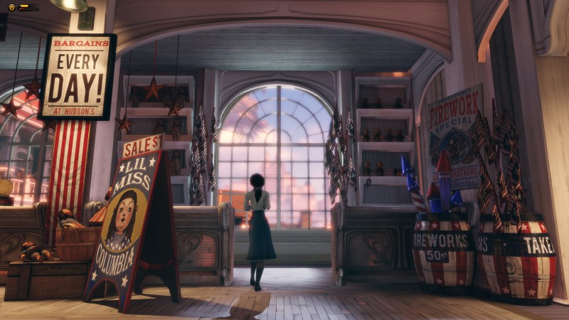 BioShock Infinite: Burial at Sea, Best Games, game, shooter, fps, PC, Xbox 360, PS3 (horizontal)