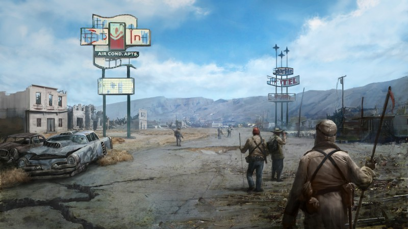 Fallout: New Vegas, Best games, game, PC, PS3, Xbox 360 (horizontal)