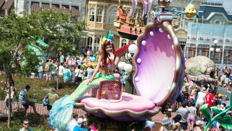 Festival of Fantasy: Disney's Best Parade, Little Mermaid, Ariel (horizontal)
