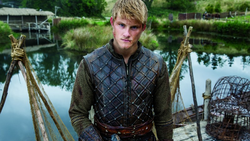Alexander Ludwig, Most Popular Celebs in 2015, Best TV Series of 2015, Vikings, actor (horizontal)