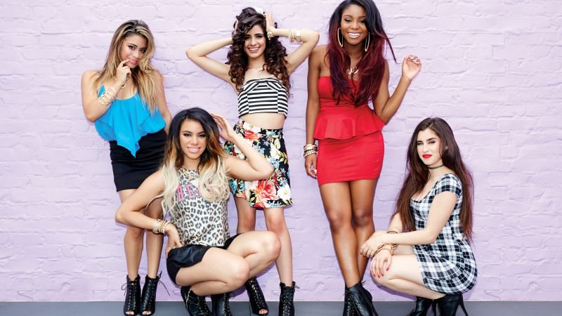 Fifth Harmony, Top music artist and bands, Allyson Brooke, Normani Kordei, Camila Cabello, Dinah Hansen