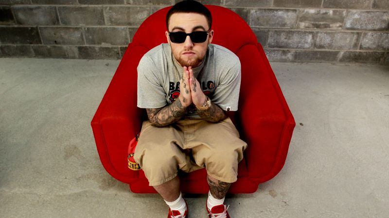 Mac Miller, Top music artist and bands, rapper, singer (horizontal)