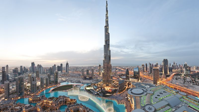 Khalifa Tower, Dubai, Best hotels, tourism, travel, resort, booking, vacation, pool (horizontal)