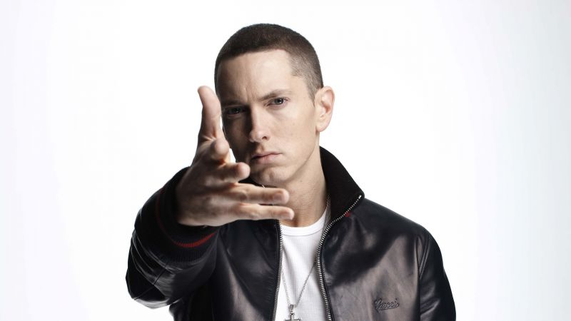 Eminem, Top music artist and bands, rapper (horizontal)