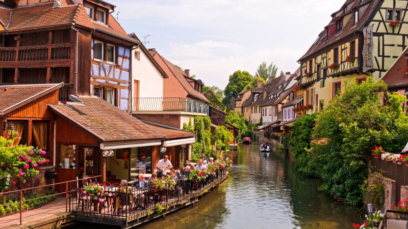 Colmar, France, Tourism, Travel (horizontal)