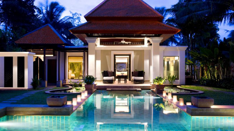 Banyan Tree, Phuket, Thailand, Best hotels, tourism, travel, resort, booking, vacation, pool (horizontal)