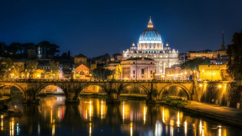 st. angelo bridge, Rome, Italy, Tourism, Travel