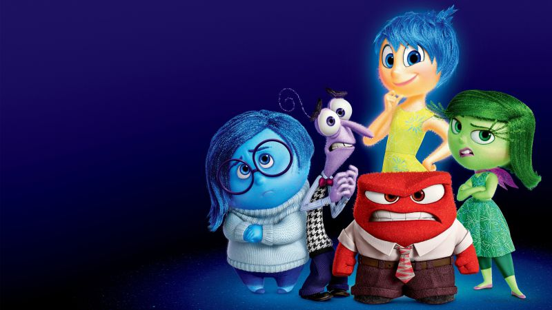 Inside out, best movies of 2015, cartoon