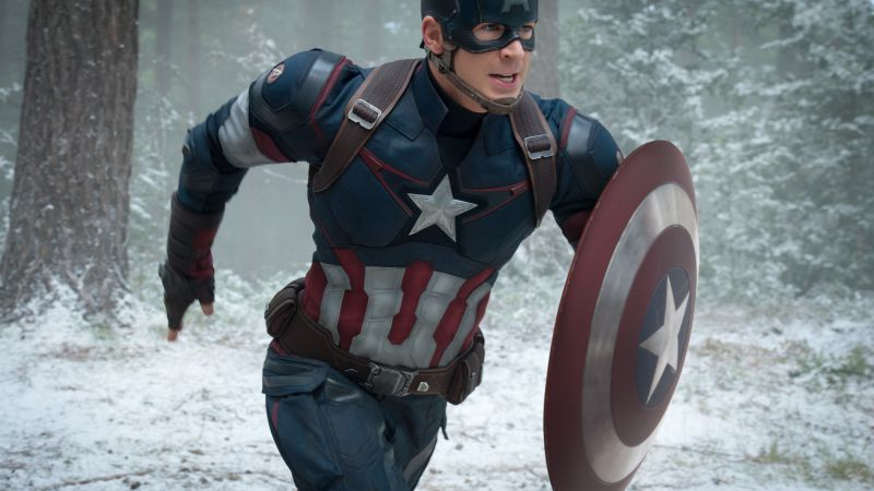 Avengers: Age of Ultron, Best Movies of 2015, Avengers 2, Chris Evans, Captain America (horizontal)