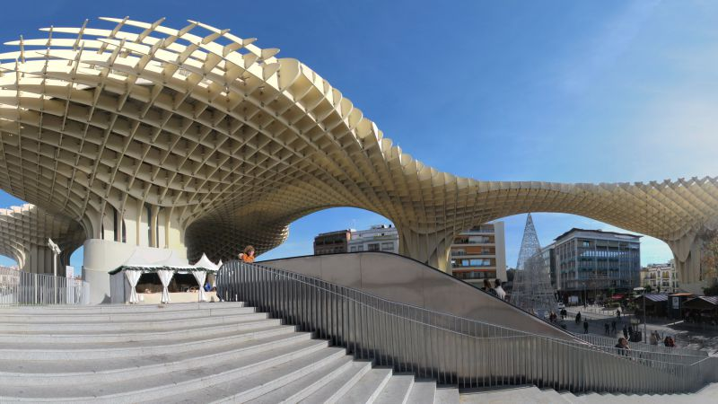 Metropol Parasol, Spain, Best hotels, tourism, travel, resort, booking, vacation (horizontal)