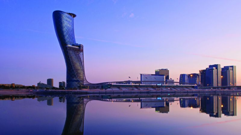 Hyatt Capital Gate, United Arab Emirates, Best hotels, tourism, travel, resort, booking, vacation (horizontal)