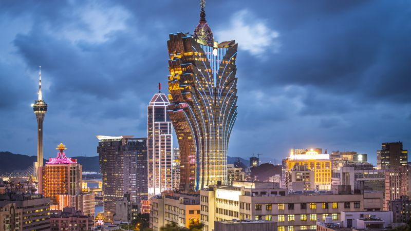 Grand Lisboa, Makao, China, Best hotels, tourism, travel, resort, booking, vacation (horizontal)