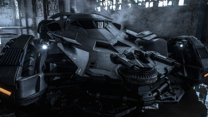 Batman v Superman: Dawn of Justice, Best Movies of 2015, movie, batmobile (horizontal)