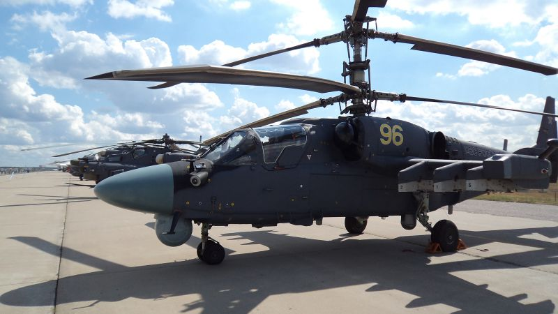 Ka-52, helicopter, Russian Army