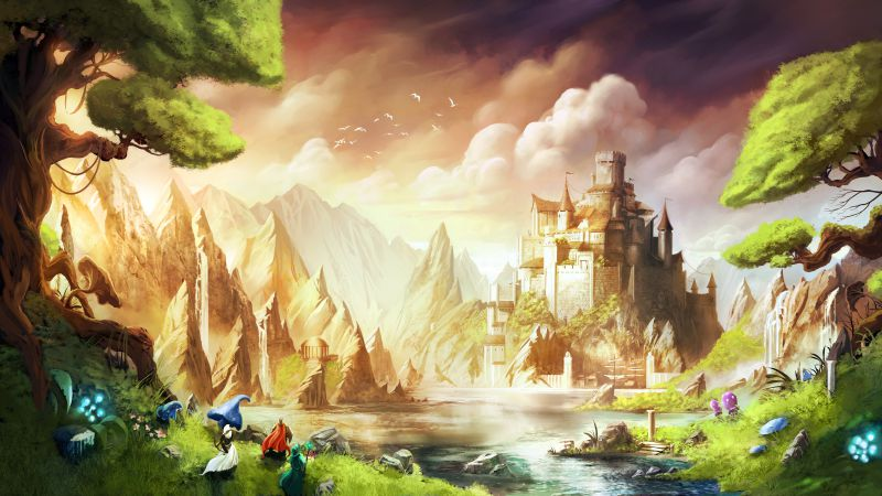 Trine 3: The Artifacts of Power, Best Game, game, arcade, fairytale, PC, PS4 (horizontal)