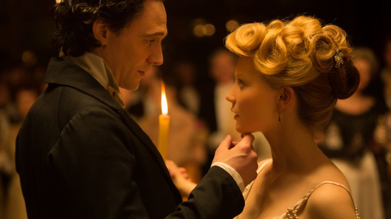 Crimson Peak, Best Movies of 2015, movie, Tom Hiddleston, Mia Wasikowska (horizontal)