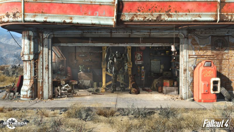 Fallout 4, Best Games 2015, game, shooter, PC, PS4, Xbox One, review, screenshot