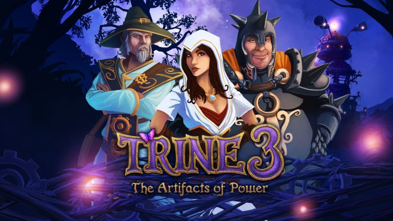 Trine 3: The Artifacts of Power, Best Game, game, arcade, fairytale, PC, PS4