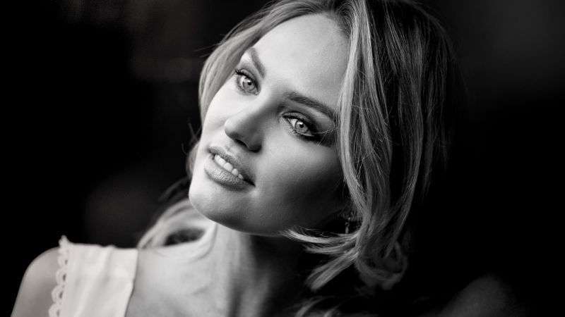 Candice Swanepoel, Top fashion model, blonde, Victoria's Secret Angel
