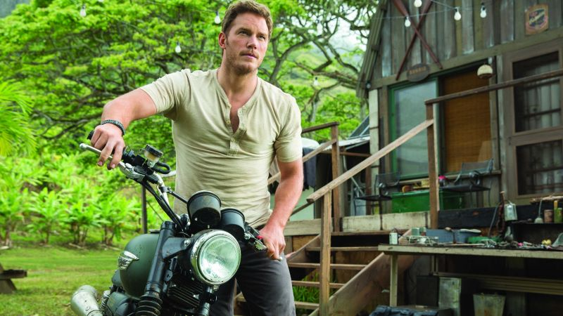 Chris Pratt, Most Popular Celebs, actor, Jurassic world (horizontal)