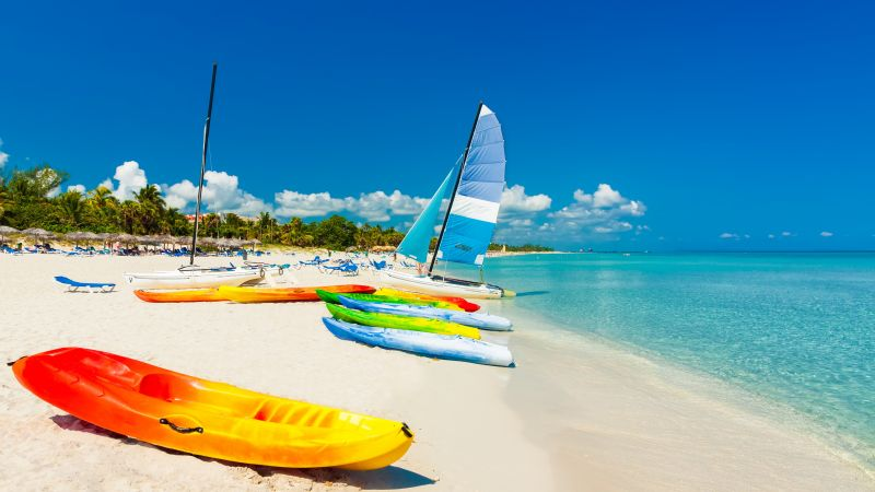Ocean, beach, boats, travel, tourism