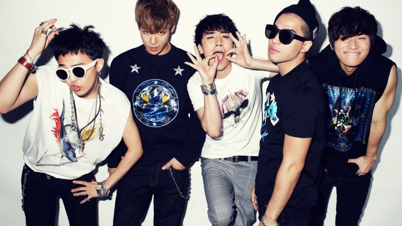 Big Bang, Top music artist and bands, G-Dragon, T.O.P, Taeyang, Daesung, Seungri