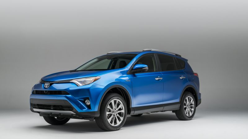 Toyota RAV4, hybrid, crossover, review, buy, rent (horizontal)