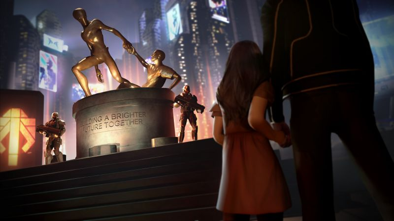 XCOM 2, Best Games 2015, game, cuberpunk, sci-fi, PC