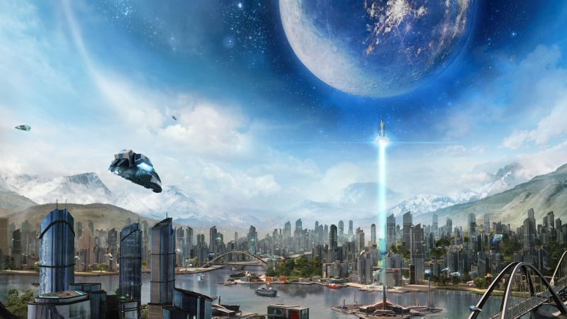 Anno 2205, Best Games 2015, game, sci-fi, PC (horizontal)