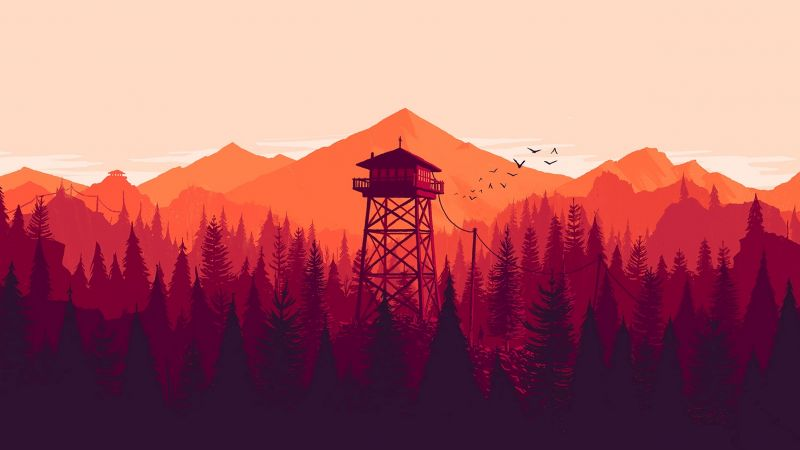 Firewatch, Best Games 2015, game, quest, horror, PC (horizontal)