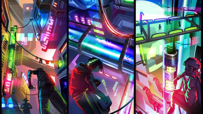 Hover: Revolt of Gamers, Best Games 2015, game, quest, open world, cyberpunk, sci-fi, PC (horizontal)