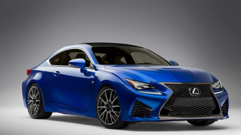 Lexus RC F, coupe, sport car, review, rent, buy (horizontal)