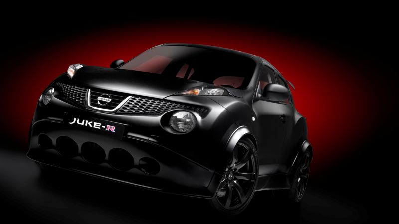Nissan Juke-R, crossover, sport car, review (horizontal)
