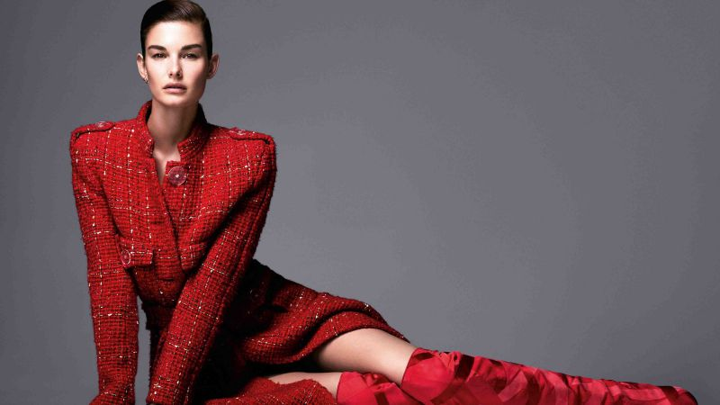 Ophelie Guillermand, Top Fashion Models, model (horizontal)