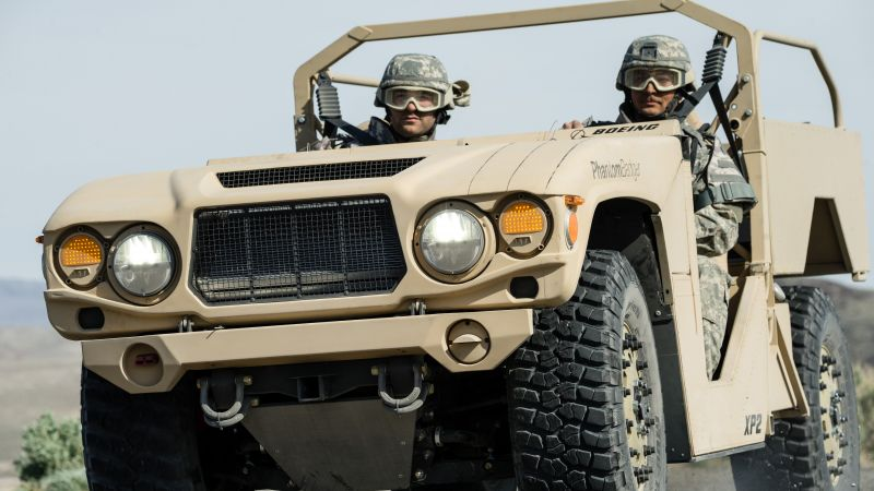 Phantom Badger, combat support vehicle, U.S. Army