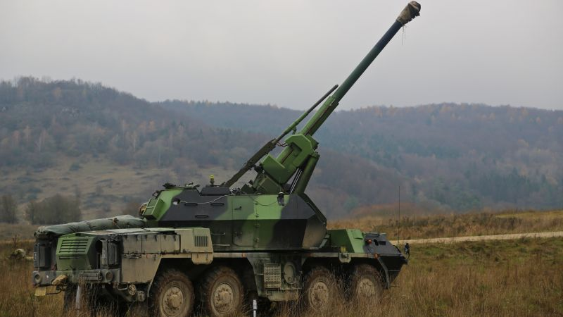 vz.77 DANA, self-propelled auto-loading gun, Military of the Czech Republic