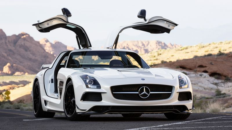 Mercedes-Benz SLS 63 AMG Black Series, sport car, review, buy, rent (horizontal)