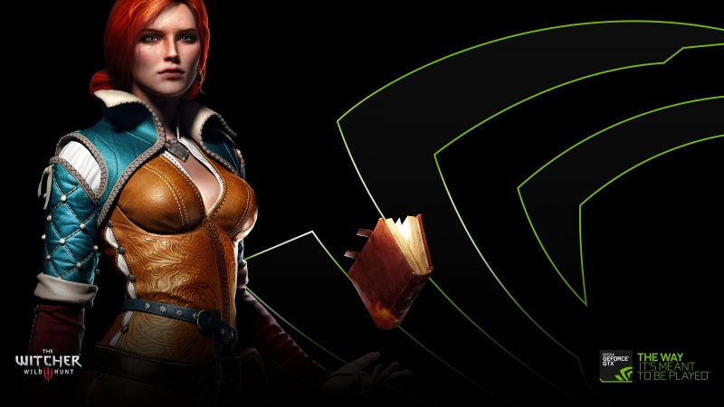 The Witcher 3: Wild Hunt, Best Games 2015, game, fantasy, NVIDIA, Triss Merigold, PC, PS4, Xbox One